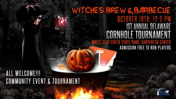 Witches Brew & Barbecue 1st Annual Delaware Cornhole Tournament & Community Event
